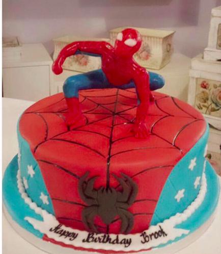 Spider-Man Themed Cake 07