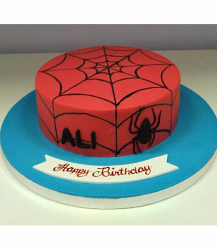 Spider-Man Themed Cake 08b