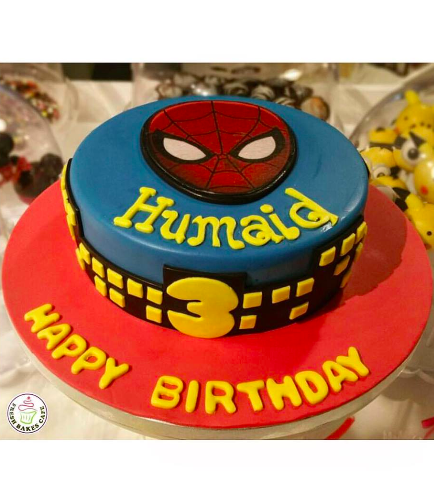Spider-Man Themed Cake - Printed Picture 03
