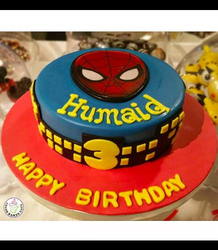 Spider-Man Themed Cake 11
