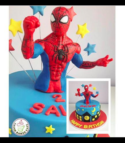 Spider-Man Themed Cake 12