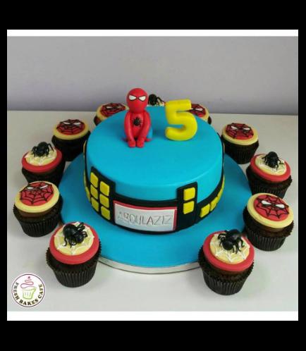 Spider-Man Themed Cake 14