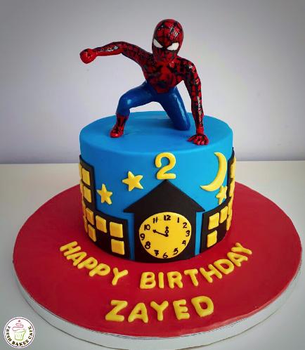 Spider-Man Themed Cake 16b