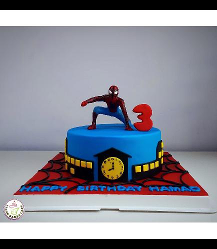 Spider-Man Themed Cake 16c