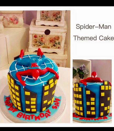 Spider-Man Themed Cake 04