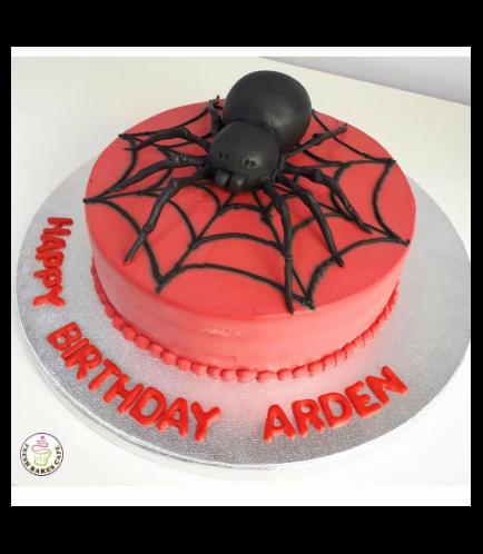 Spider-Man Themed Cake 17