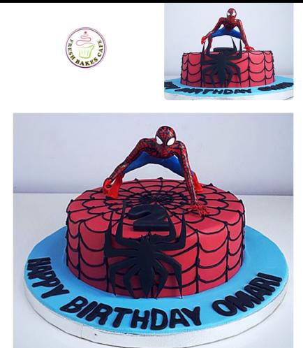 Spider-Man Themed Cake 21