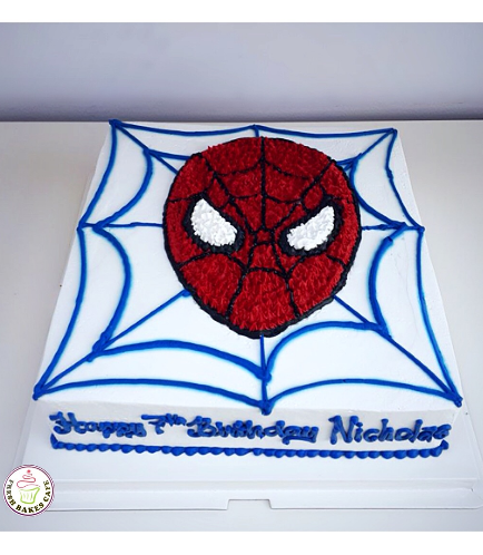 Spider-Man Themed Cake 22
