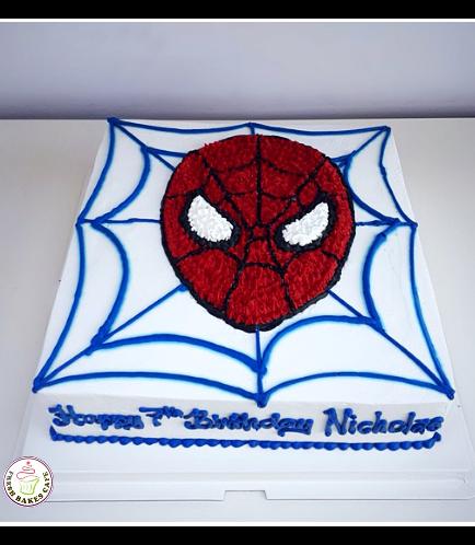 Spider-Man Themed Cake 22