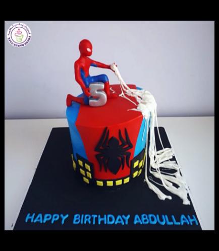 Spider-Man Themed Cake 23