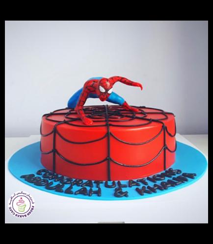 Spider-Man Themed Cake 24