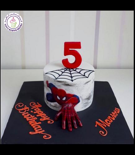 Spider-Man Themed Cake 25
