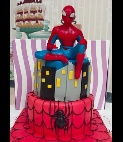 Spider-Man Themed Cake 01