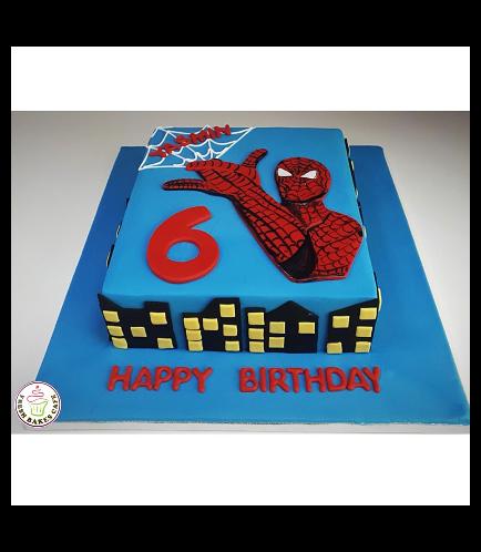 Spider-Man Themed Cake 02
