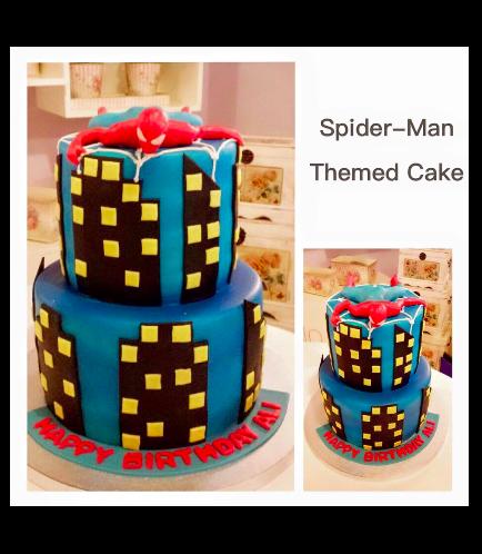 Spider-Man Themed Cake 05