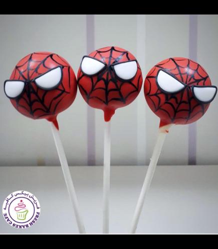 Spider-Man Themed Cake Pops 02