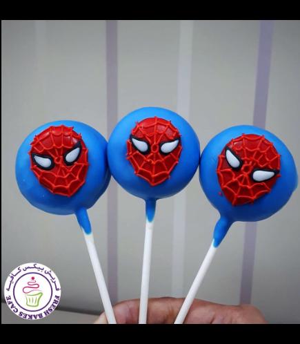 Spider-Man Themed Donut Pops 01