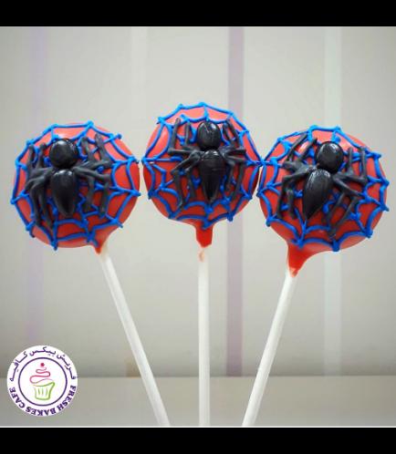 Spider-Man Themed Donut Pops 03