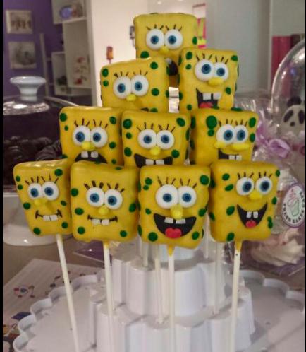 SpongeBob SquarePants Themed Cake Pops 01