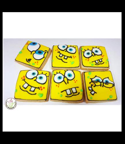 SpongeBob SquarePants Themed Cookies