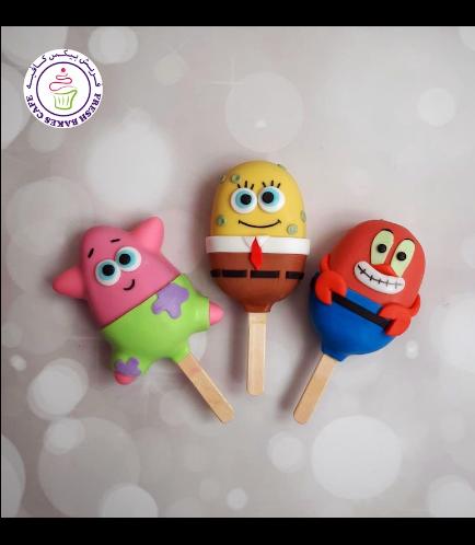SpongeBob SquarePants Themed Popsicakes 02