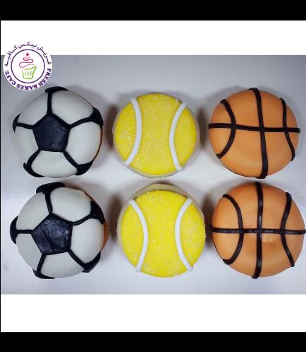 Sports Balls Themed Donuts