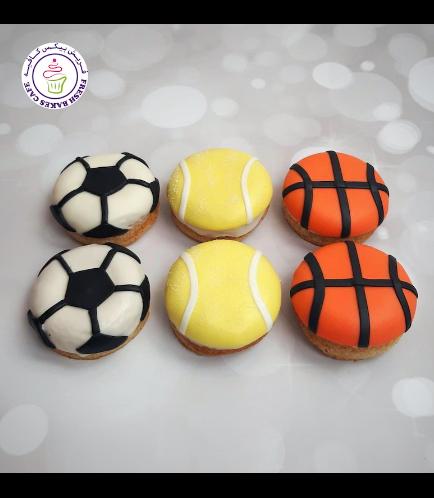 Sports Balls Themed Donuts 01
