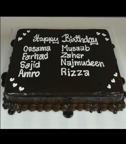 Cake - Staff Birthday 02