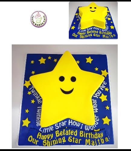 Cake - Star - 3D Cake 01