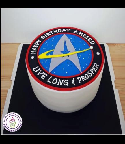 Star Trek Themed Cake