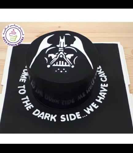Cake - Darth Vader 02