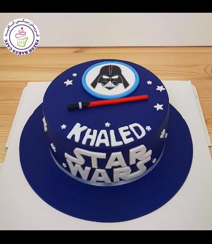 Cake - Darth Vader 03