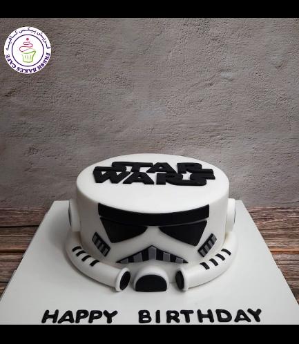 Cake - Stormtrooper - 2D Cake 04