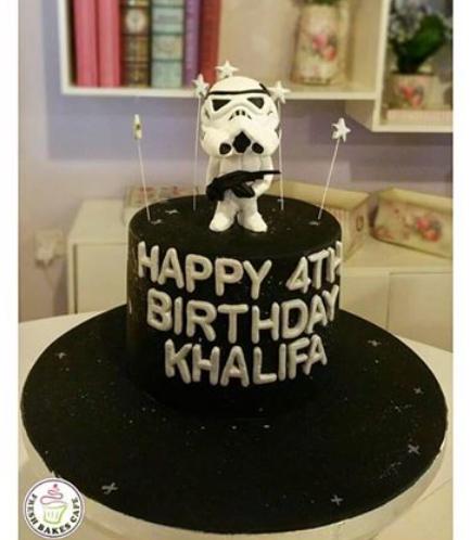 Cake - Stormtrooper 3D Cake Topper