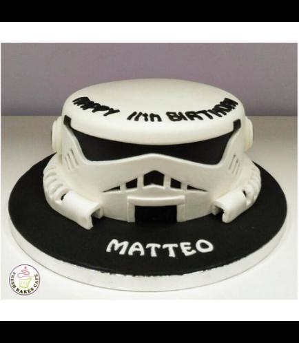 Cake - Stormtrooper 2D Cake 01