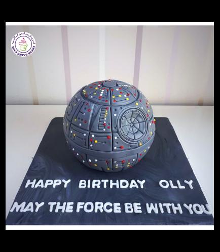 Cake - Death Star 3D Cake - 1 Tier
