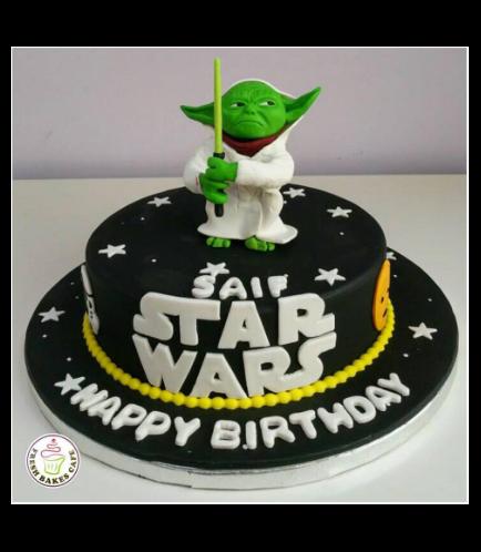 Cake - Yoda 3D Cake Topper