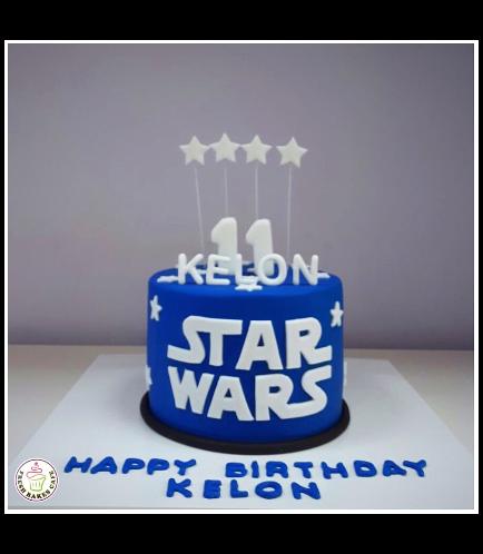 Cake - Round - 1 Tier 02