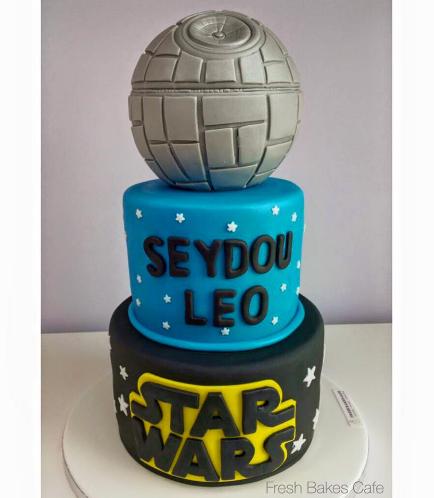 Cake - Death Star 3D Cake - 3 Tier