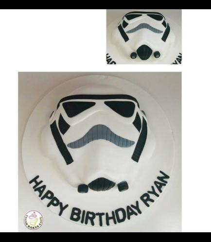 Cake - Stormtrooper 2D Cake 02