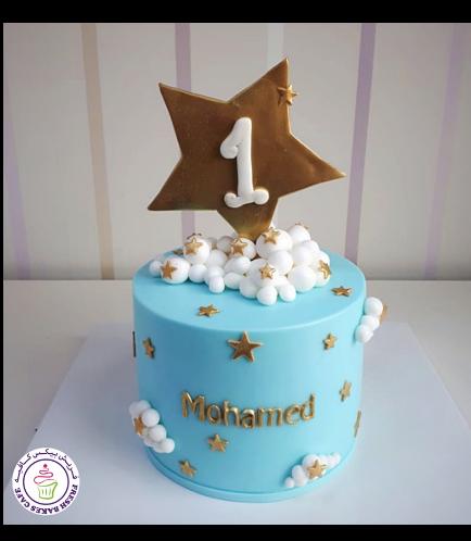Stars Themed Cake 3