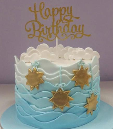 Stars Themed Cake 01