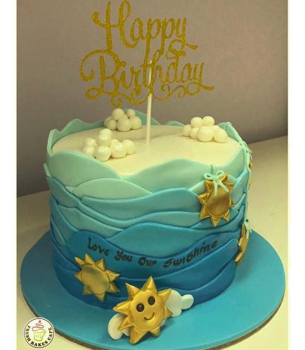 Stars Themed Cake 2