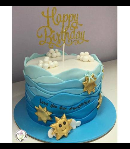 Stars Themed Cake 02