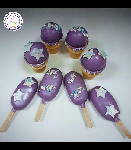 Cone Pops & Popsicakes - Stars