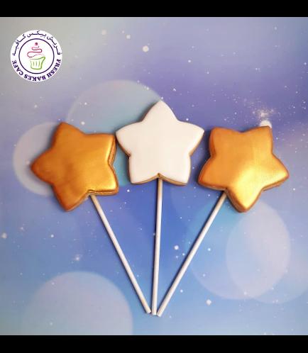 Cookies - Stars on Sticks