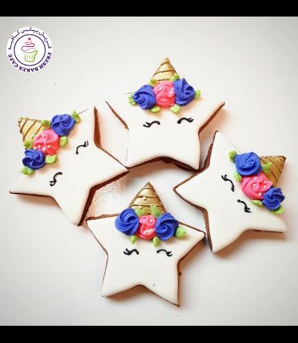 Cookies - Stars - Unicorn