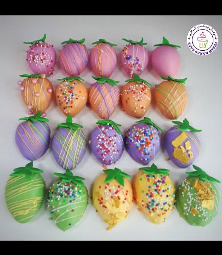 Strawberry Themed Cake Turffles