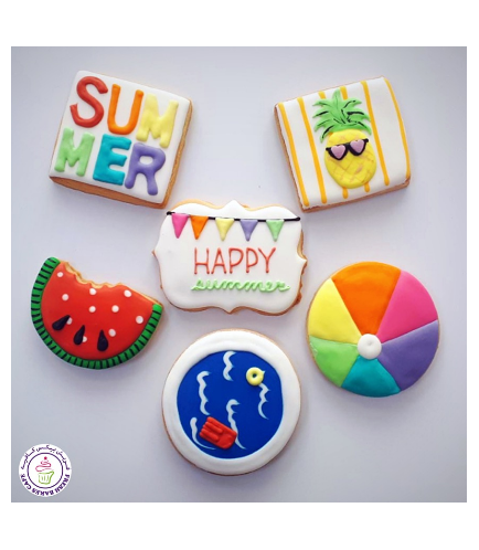 Summer Themed Cookies 1