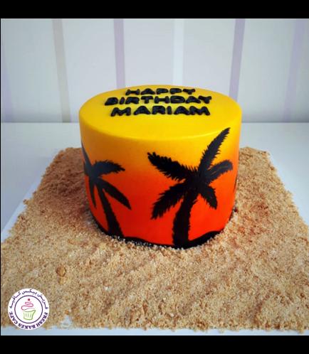 Sunset Themed Cake 02